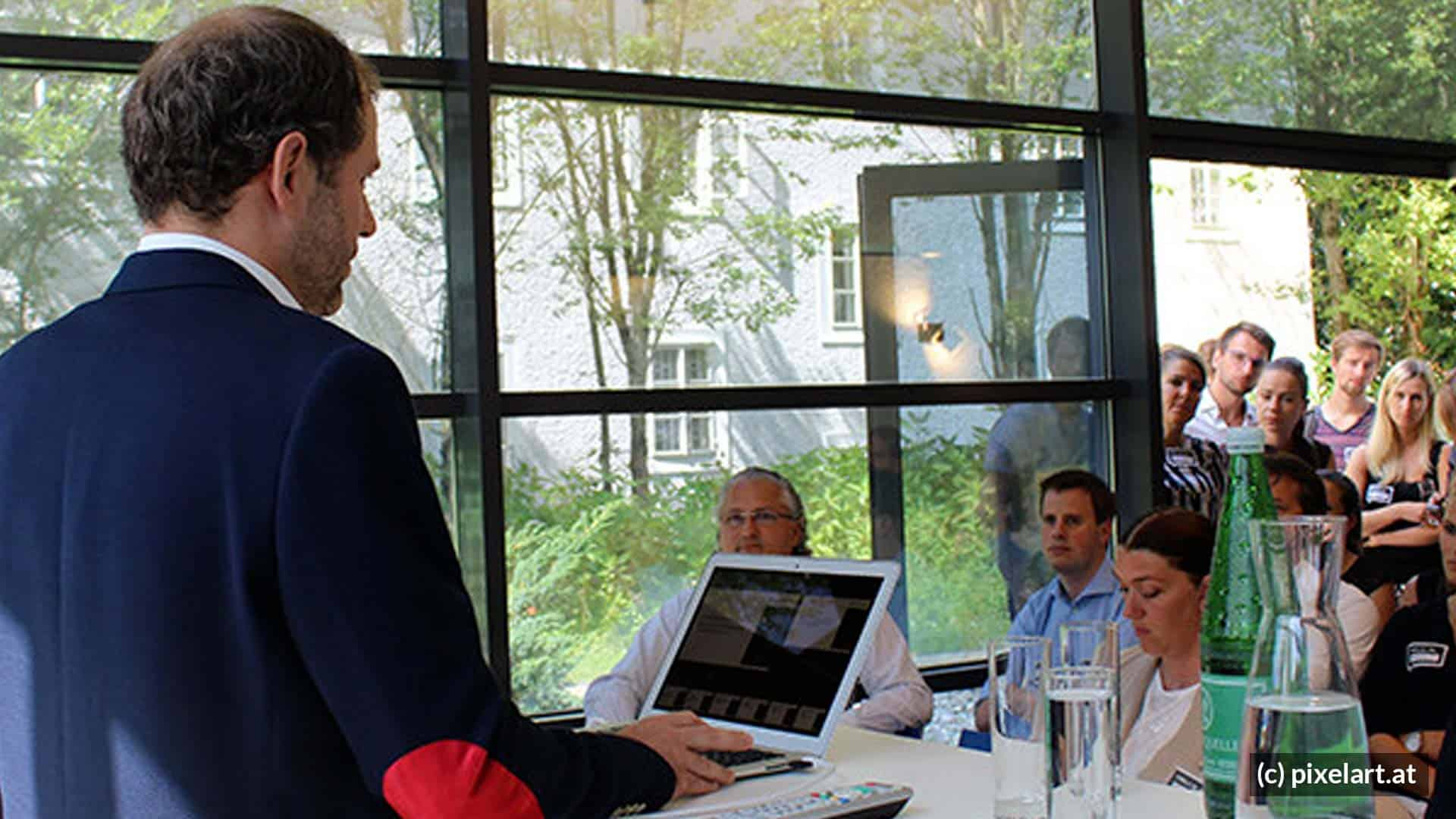 pixelart: Business Breakfast zur DSGVO
