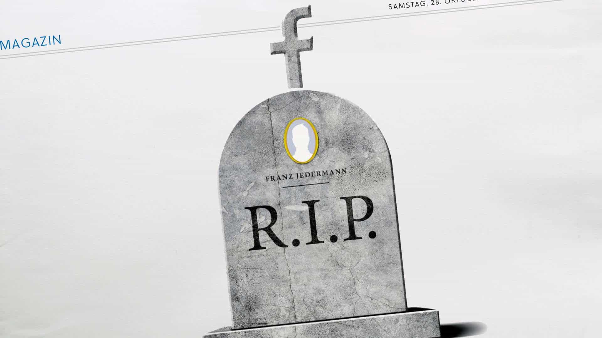 Salzburger Nachrichten: Wie Facebook mit dem Tod umgeht