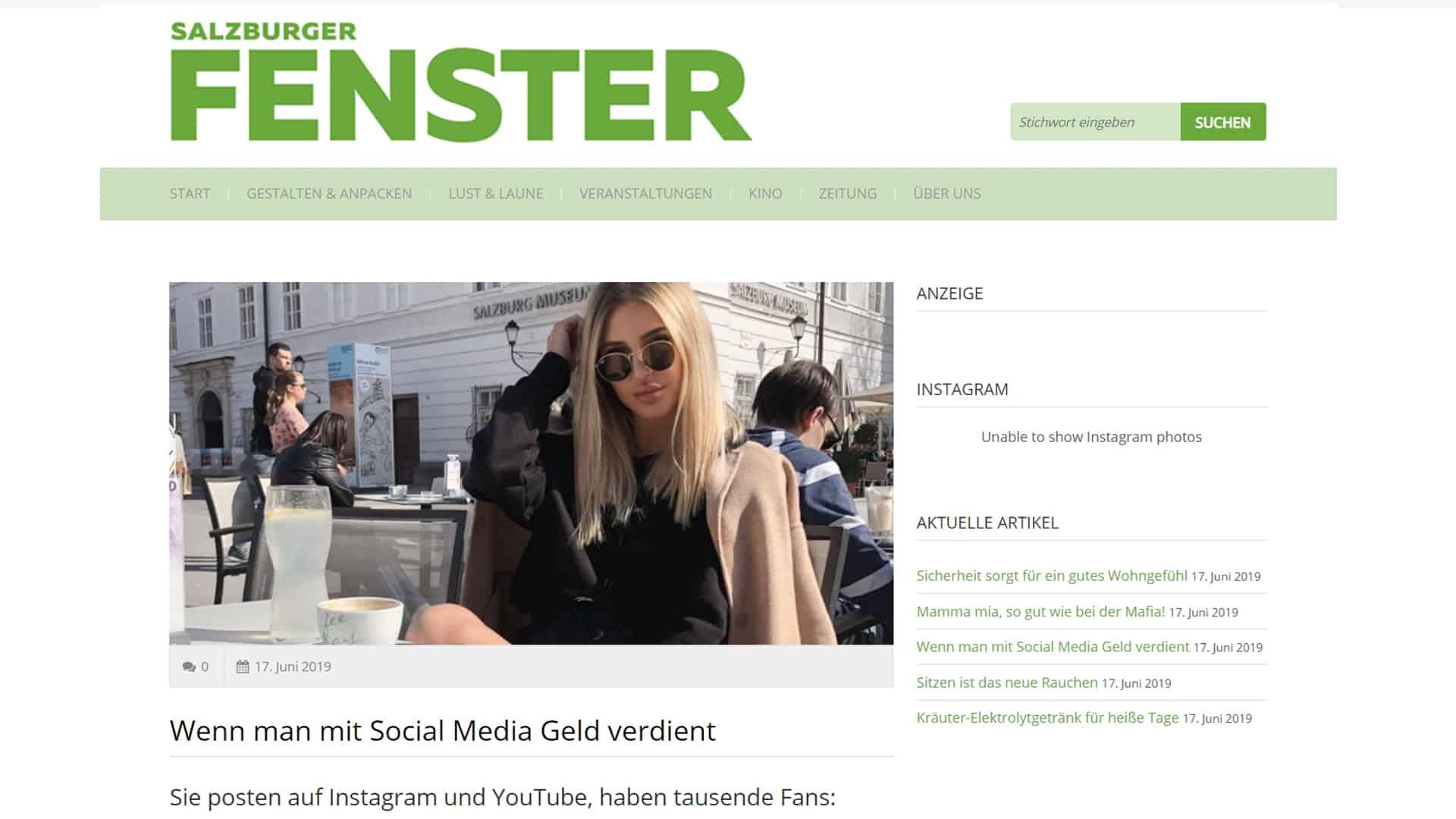Influencer – ein neues Berufs- und Geschäftsfeld