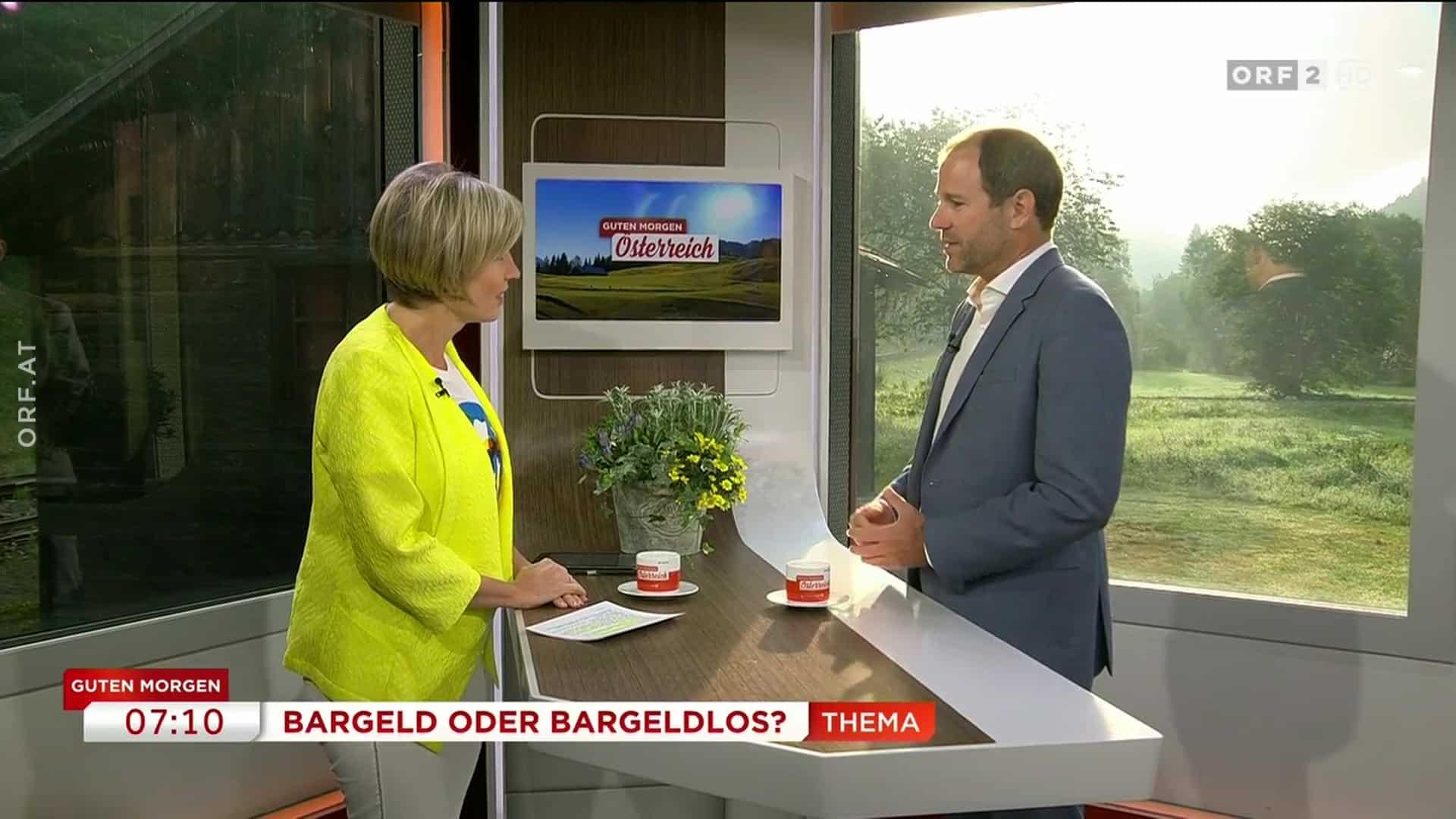 Guten Morgen Österreich: Bargeld oder Bargeldlos?