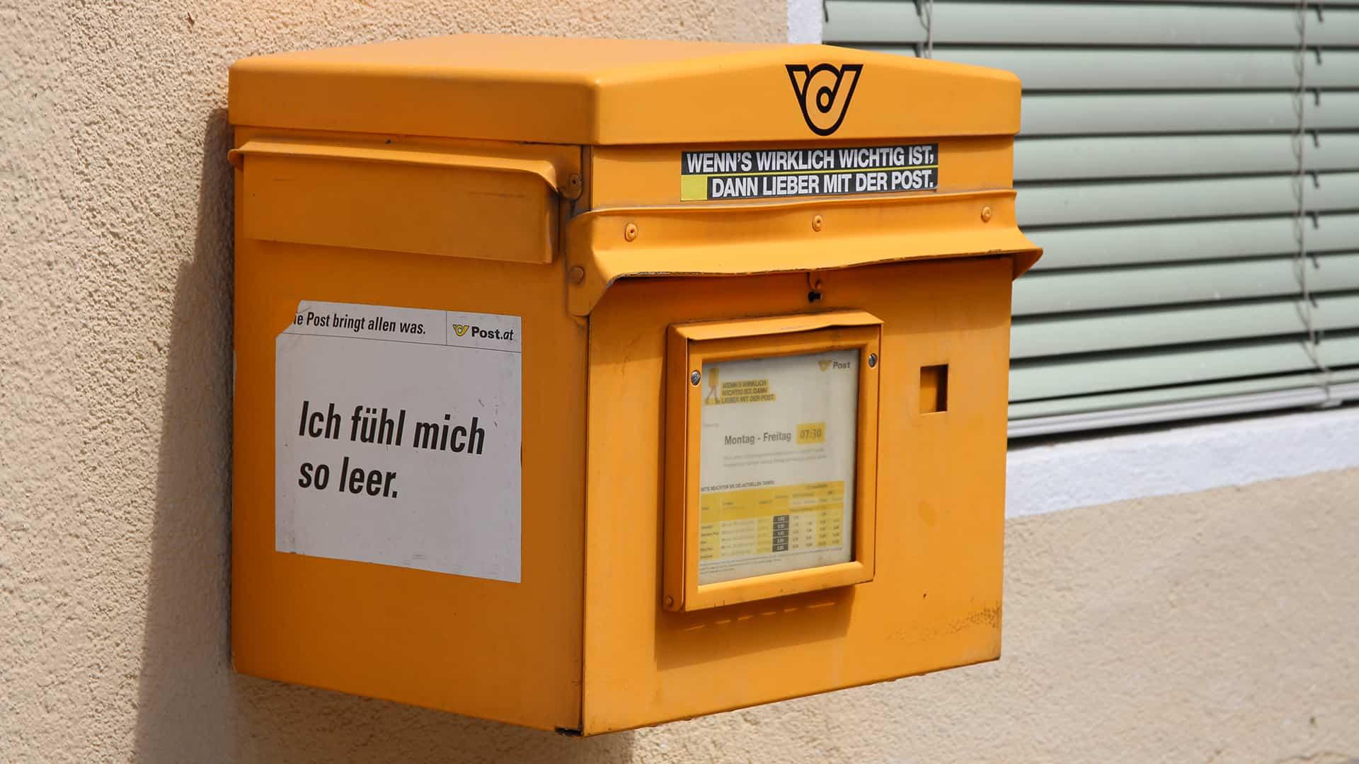18 Millionen Euro Strafe für die Österreichische Post